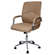 Office Chair Presidential leather  with arm support AIS 40