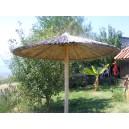 Ομπρέλα Παραλίας Ξύλινη Ais 01