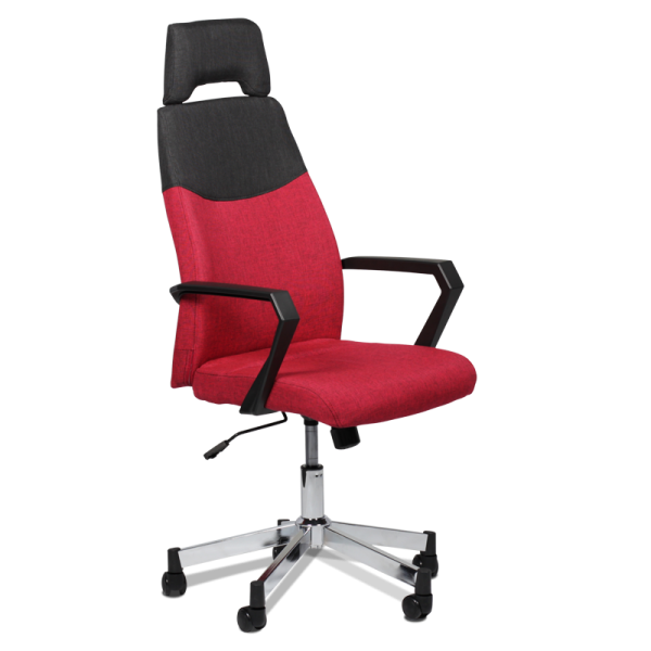 Office Chair Presidential Fabric With Arm Support Ais 41