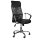 Office Chair Presidential leather / mesh  with arm support AIS 42