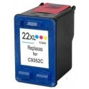 Ink HP No 22 C9352CE XL Color