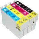 Μελάνι EPSON T1281 Black + T1282Cyan + T1284 Yellow + T1283 Magenta MultiPack (4) stylus
