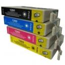 Μελάνι EPSON T1291 Black +T1292Cyan + T1294 Yellow +T1293 Magenta MultiPack (4) stylus