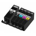 Ink cartridge CLI 8 XL 13ml  Canon Pack (4) Black + Cyan + Yellow + Magenta