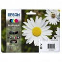 Μελάνι EPSON 18 XL  T18114010 Black + Cyan + Yellow + Magenta MultiPack (4)