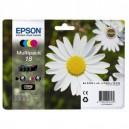 Μελάνι EPSON 18 XL  T18114010 Black + Cyan + Yellow + Magenta MultiPack (4)