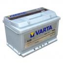 Μπαταρία Αυτοκινήτου  VARTA 74AH E38 750A EN ΕΚΚΙΝΗΣΗΣ 12V Silver Dynamic