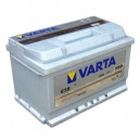 CAR BATTERY VARTA 74AH E38 750A EN 12V Silver Dynamic