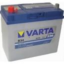 Μπαταρία Αυτοκινήτου  VARTA 45AH B34 330A EN ΕΚΚΙΝΗΣΗΣ 12V Blue Dynamic