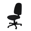 Office Chair AIS 03 Black - Blue