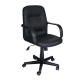 Office Chair  Pu Leather with arm support AIS 07