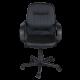 Καρέκλα Γραφείου δερματίνη με μπράτσο στήριξης AIS 07