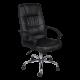 Καρέκλα Γραφείου δερμάτινη με μπράτσο στήριξης AIS 10