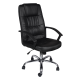 Office Chair  Pu Leather with arm support AIS 10