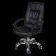Офис стол Pu кожа с висока облегалка AIS 10