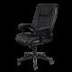 Καρέκλα Γραφείου Προεδρική δερμάτινη με μπράτσο στήριξης AIS 19