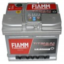 CAR BATTERY  FIAMM 50AH  520A EN ΕΚΚΙΝΗΣΗΣ  Titanium Plus