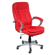 Καρέκλα Γραφείου Προεδρική δερμάτινη με μπράτσο στήριξης AIS 20